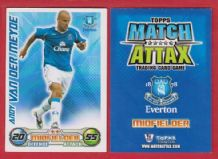 Everton Andy Van Der Meyde Holland
